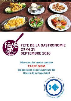 Fête de la Gastronomie 2016 !