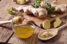 Hotový zázrak vytvořený ze zázvoru a medu proti vypadávání vlasů - www. Garlic, Vegetables, Food, Essen, Vegetable Recipes, Meals, Yemek, Veggies, Eten