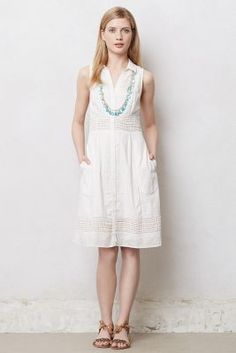 Swiss Dot Shirtdress -Material: cotton -Price: €35.95 (white) & €80.95 (black) -Ships from the UK: €12