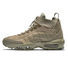 new concept cab37 7f226 Nike Air Max 95 Sneakerboot KHAKI-MATTE OLIVE 806809-200 Mens Running shoes