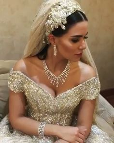 This Lebanese Bride's Custom Wedding Dress Was So Magical, It Got Its Own Hashtag
