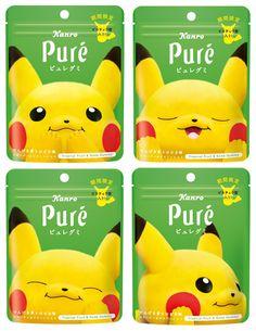 Food Packaging Design, Beverage Packaging, Brand Packaging, Pokemon Snacks, Japanese Snacks, Restaurant Branding, Work On Yourself, Pikachu, Packing