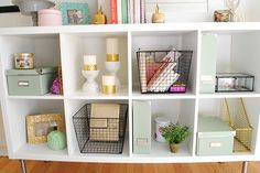 when i walked into what would be my bedroom for the first time, i instantly knew what i wanted to do with my workspace. i have this large blank wall that's perfect for a desk, organizational pieces, a