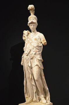 Statue of Athena wearing a Corinthian helmet, the aegis and Gorgoneion, AD 180-190 (torso; supplementations of the Renaissance and Baroque era), Liebieghaus, Frankfurt am Main | Flickr - Photo Sharing!