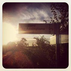 Signage to my village.