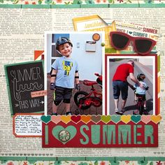 Simon Says Stamp Blog!: Simple Stories Fun in the Sun!