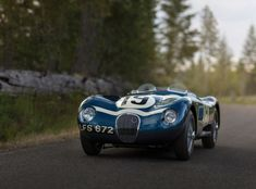 28 Photos Of A Beautiful 1953 Jaguar C-Type Works Lightweight | Airows Sports Car Racing, Race Cars, Jaguar C Type, Jaguar Cars, Jaguar Xk, Automobile, British Sports Cars, Collector Cars For Sale, Porsche 911 Gt3