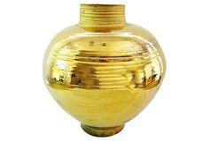 Gold Resonance Vase