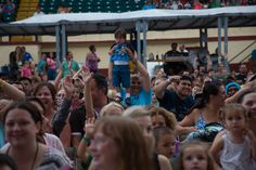 Kids of all ages are mesmerized by The Fresh Beat Band Sunday August 31 #1infairfun #allentownfair #TheFreshBeatBand #SummerFun