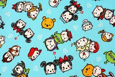 Check out this item in my Etsy shop https://www.etsy.com/listing/485472394/tsum-tsum-character-oxford-fabric-made