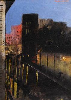 MARGUERITE DE CORINI (1902-1982)   Párizsi Utca (Paris Street)