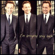 Bring it, Tom! #tomhiddleston #gothiddles #hiddlestoned #picframe #loki #hot #sexyback #hiddles #suitup #handsome #twhiddleston #lokilaufeyson #theavengers