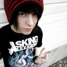 Asking Alexandria shirt makes him much hotter
