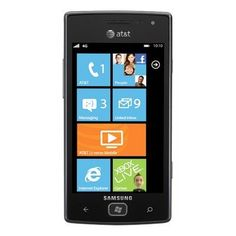 Bargain Samsung Focus Flash I677 8GB Unlocked GSM Phone with Windows 7.5 OS, 5MP Camera, GPS, Wi-Fi, Bluetooth and FM Radio