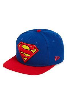 2dad4b70402f7 New Era Cap  Superman  Snapback Cap Superman Stuff