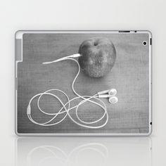 wrong+apple+Laptop+&+iPad+Skin+by+Bianca+Green+-+$25.00