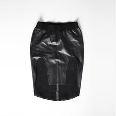 Shop our new WOMAN leather samurai skirt on Pict! http://pict.com/p/Bkz