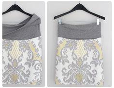 Meg: maternity pencil skirt pattern | loulou james | creative studio