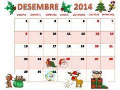 Calendari de desembre pdf by Rosa T via slideshare