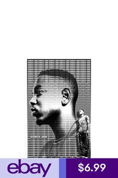 "KENDRICK LAMAR  11x17 /""Black Light/"" Poster"