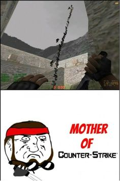 What Counter-Strike And Boredom Can Make You Do - www.meme-lol.com