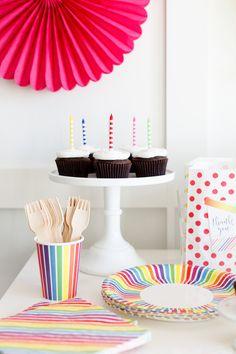 The TomKat Studio   Blog: Host A Rainbow Party