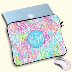 "MacBook Air Case 13"", MacBook Pro 13"", 15"" MacBook Case,lilly pulitzer,custom macbookair sleeve,personalizedmacbookcase,christmas gifts by OnlyOneGift on Etsy"