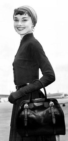 """wehadfacesthen: """"Audrey Hepburn, 1953 """""""