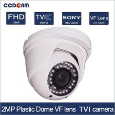 28.80$  Watch now - http://ali1n7.shopchina.info/1/go.php?t=32808852405 - CCDCAM Plastic dome 1080P CCTV CVI security camera for security system  #buymethat