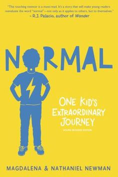 Normal. Who is to say what this word means? For Magda Newman, it was a goal. She wanted her son Nathaniel to be able to play on the playground, swim at the beach, enjoy the moments his friends took for granted. But Nathaniel's severe Treacher Collins syndrome-- a craniofacial condition-- meant that other concerns came first.  But Nathaniel looks at 'normal' from a completely different perspective. In this uplifting and humorous memoir mother and son tell the story of his growing up.
