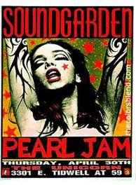 Soundgarden, Pearl Jam 1991