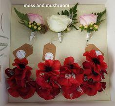 Moss and Mushroom - bespoke wedding floristry and heirloom bouquets by Liza Keane Wedding florist, Ballina Killaloe, Co. Fresh Flowers, Wedding Flowers, Stuffed Mushrooms, Bouquet, Gift Wrapping, Weddings, Table Decorations, Home Decor, Stuff Mushrooms