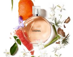 Chance Eau Vive Perfume by Chanel Perfume Hermes, Versace Perfume, Parfum Chanel, Best Cheap Perfume, Best Perfume, Perfume Scents, Perfume Bottles, Ladies Perfume Brands, Lotions