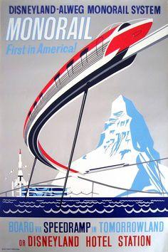 The Monorail Disneyland