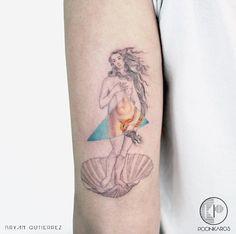 The Birth of Venus tattoo by Bryan Gutierrez