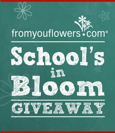 I just entered to win the School's in Bloom Giveaway. Join me! #fyfsweeps