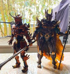 Dark Makai Knights- GIru and Kiba