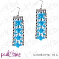 """Facebook contest for 8/1/12. Park Lane will be randomly selecting at least 5 winners throughout the day until 5pm central to receive a fabulous jewelry sample prize!!!! Click """"Like"""" on the """"Malibu Pierced Earrings"""" on the Official Park Lane POST on the Jewels by Park Lane Inc. Page to be entered! (""""Likes"""" on shared posts will not be counted.)"""