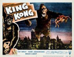 King Kong (1933) lobby card