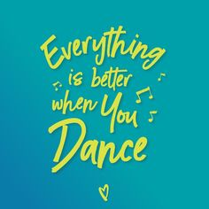 Get your dance on!