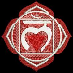 motif-Point de satin-Chakras-Muladhara chakra