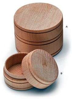 Small Hardwood Boxes - Woodworking  (Lee Valley) Would be great for Largess