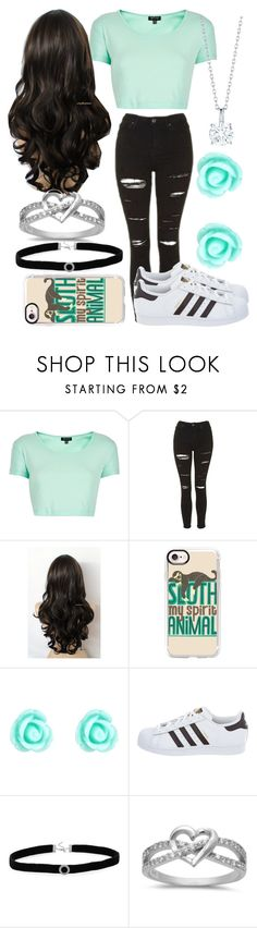 """Untitled #56"" by mylifeasem ❤ liked on Polyvore featuring Topshop, Casetify, Monsoon, adidas and BillyTheTree"