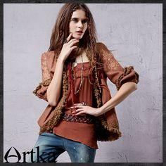 Artka® Women's Series Yesenia Acre 2015 / New Ethnic Tassel Embroidery Jacket Top WA10035Q Retail: GBP £73.75 Promotion Price / GBP £59.00 Visit Our Ebid Store : http://pierrette-new-store2.ebid.net/