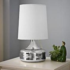 Perch Table Lamp - Mercury