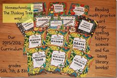 How Uses The Thinking Tree Journals Activity Books, Activities For Kids, Enchanted Learning, Bible Games, Horse Books, Reading Games, Science Curriculum, Math Practices, Math Journals
