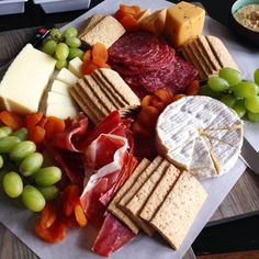 Enjoy a variety of meat, cheese and fruit! Description from tastespotting.com. I searched for this on bing.com/images