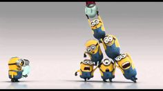 The Minions show us good teamwork.