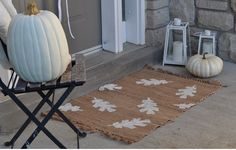 10 Adorable DIY Welcome Mats | http://www.hercampus.com/life/campus-life/10-adorable-diy-welcome-mats