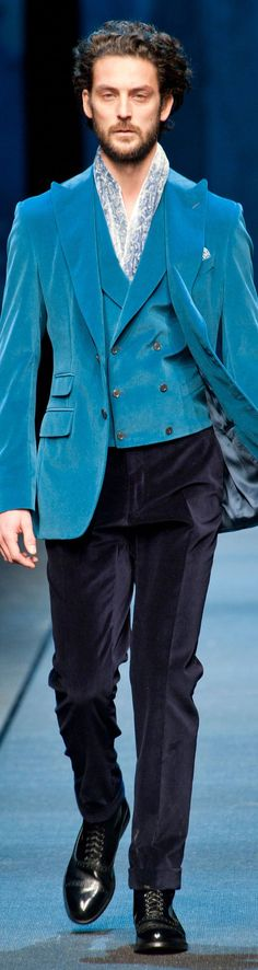 Canali Menswear Fall-Winter